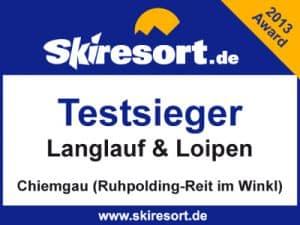 Auszeichnungen&Bewertungen Skiresort 2013