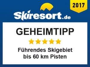 Auszeichnungen-Bewertungen Geheimtipp Skiresort