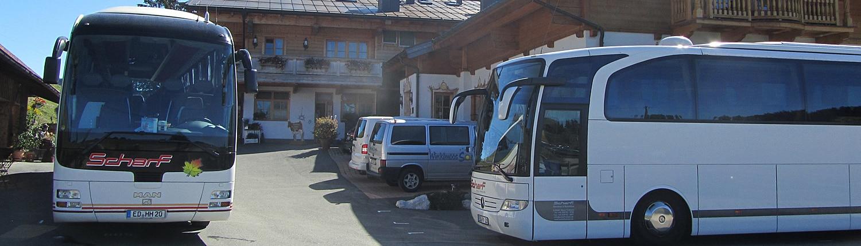 Ausflugsziel für Busse