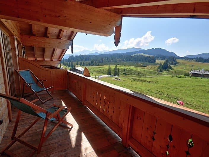 Hotel Sonnenalm Balkon