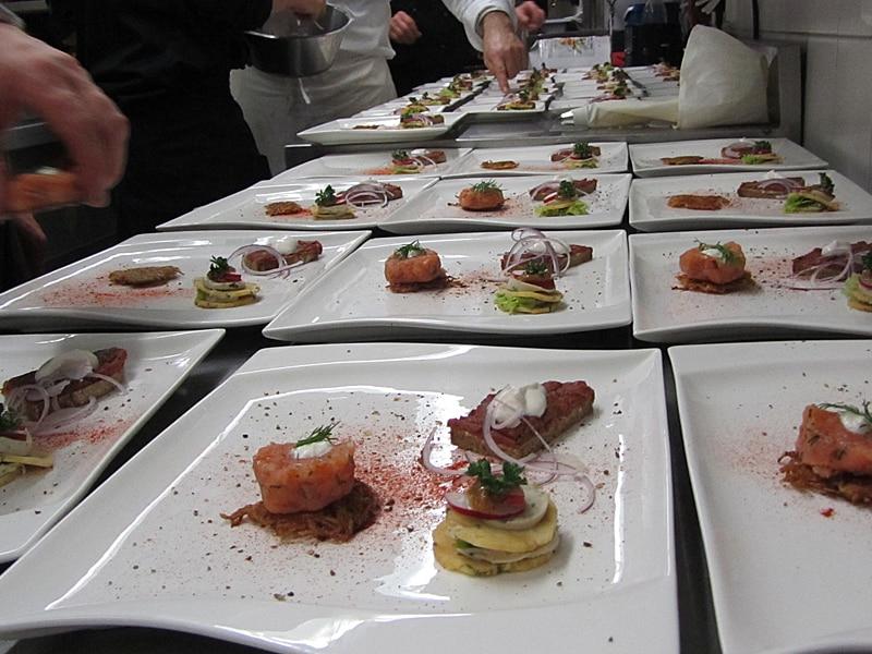Kulinarisches Halbpension Tartarvariation