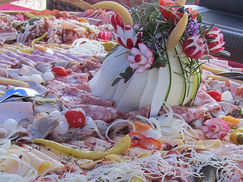 Kulinarisches Halbpension Vorspeisenplatte