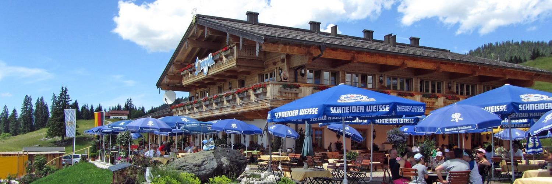 Sonnenalm Berggasthof Winklmoosalm