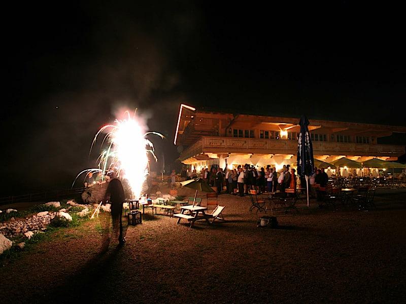 Veranstaltungen - Feuerwerk in der Nacht