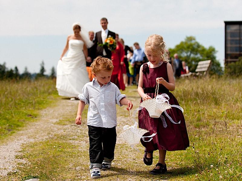 Veranstaltungen - Hochzeit, Blütenkinder