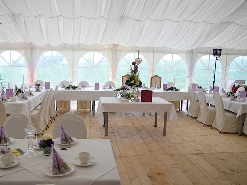 Veranstaltungen - Hochzeitszelt