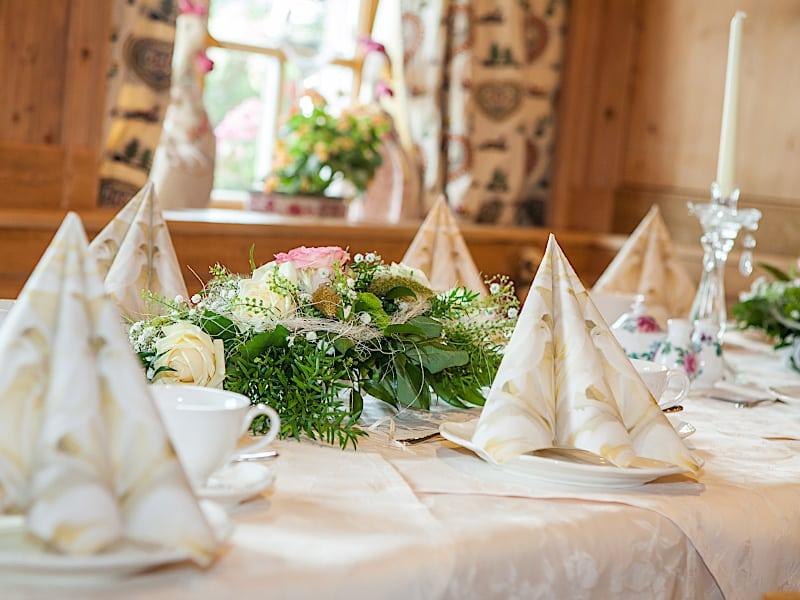 Veranstaltungen - festliche Hochzeitsdeko