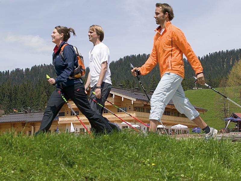Sommer - Nordic Walking Sonnenalm Winklmoos