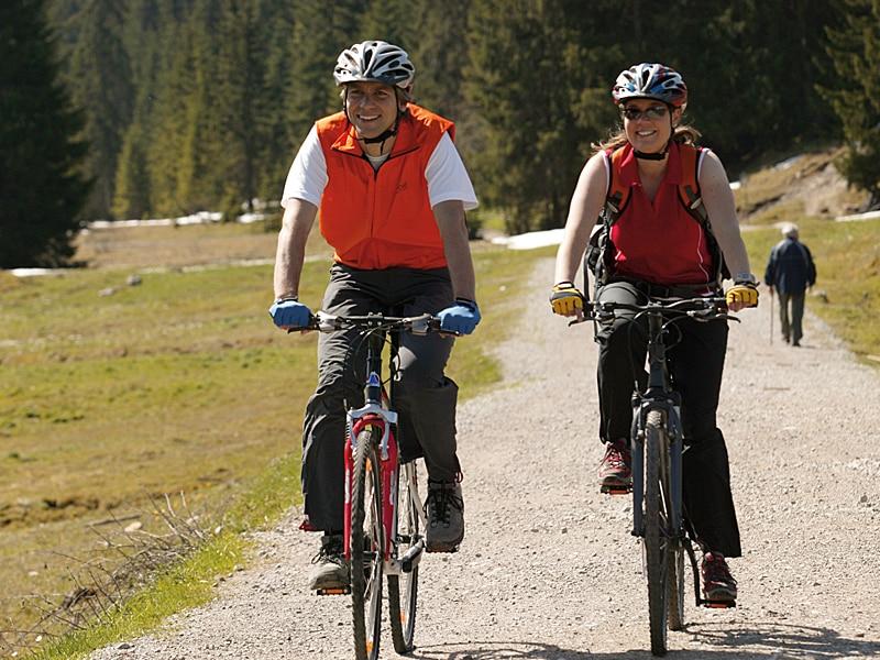 Sommer - Mountainbike-Touren Sonnenalm Winklmoos