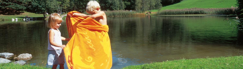 Sommer - Schwimmen Sonnenalm Winklmoos