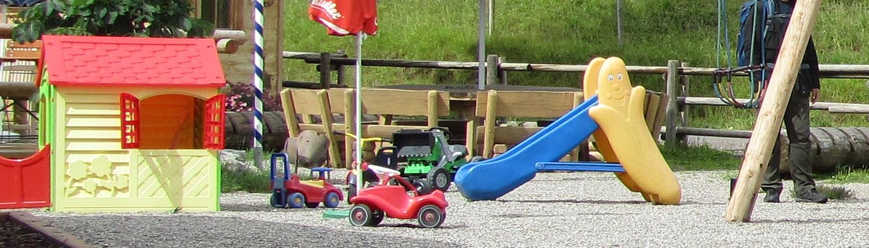 Urlaub mit Kindern - Spielplatz für die Kleinen