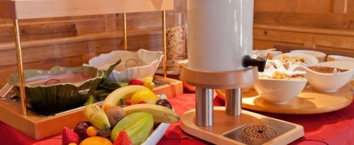 Alm-Kulinarik - Frühstück - Müsli + Obst
