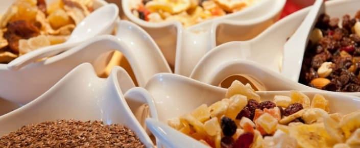 Alm-Kulinarik - Müslizutaten