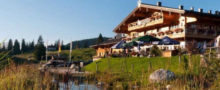 Aktivitäten Sommer - Winklmoos SonnenAlm mit Teich