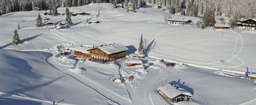 Aktivitäten Winter SonnenAlm von oben