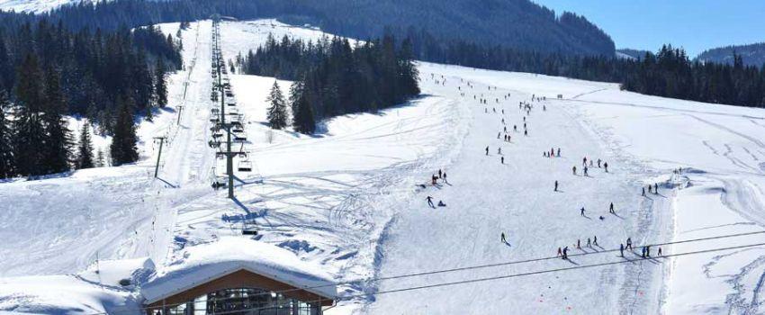 Aktivitäten Winter - Seilbahn und Piste